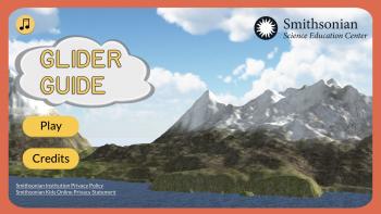 Glider Guide Title Screen